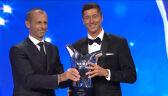 Lewandowski najlepszym piłkarzem roku UEFA