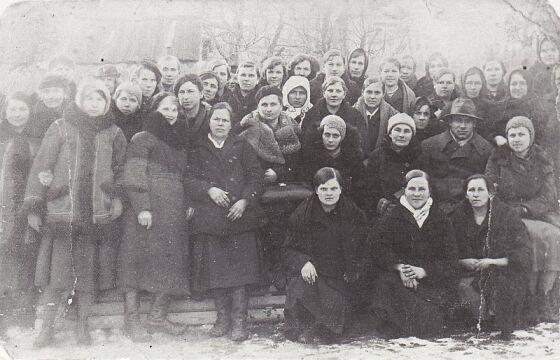 Kurs dla zarządu Koła Gospodyń Wiejskich w Lubomlu w dn. 22 lutego 1937 r.