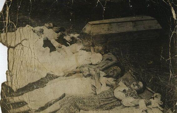 Rodzina Rudnickich zamordowana przez UPA we wsi Chobułtowa, powiat Włodzimierz