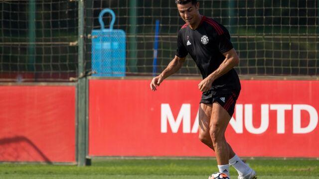 Ronaldo nie marnuje czasu. Pierwszy trening po powrocie do United