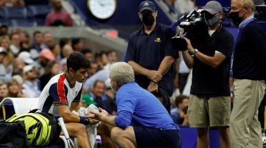 Robił furorę w US Open. Nastolatka zatrzymała dopiero kontuzja