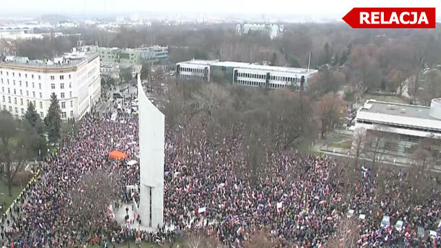 """Manifestacje KOD w całym kraju. """"Cała Polska dziś się śmieje, zaczynamy mieć nadzieję"""""""