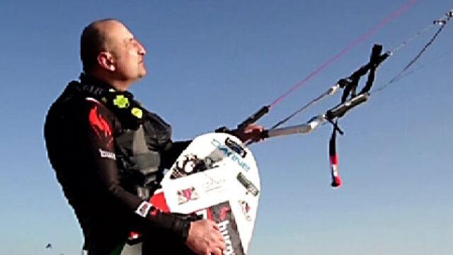 Uratowany kitesurfer: Atakowało mnie 11 rekinów