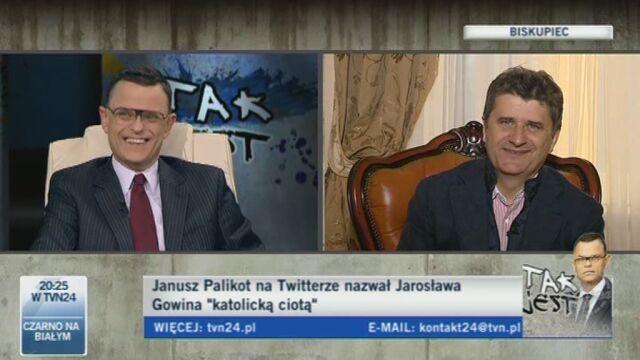 Janusz Palikot w