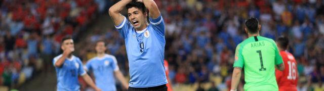 Zastanawiające zachowanie Suareza na boisku