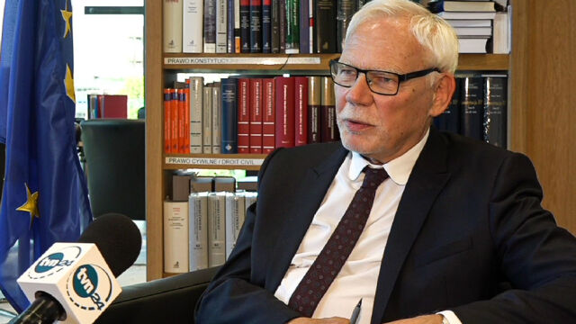 European Court of Justice judge Marek Safjan commented on EU top court ruling in Poland's case