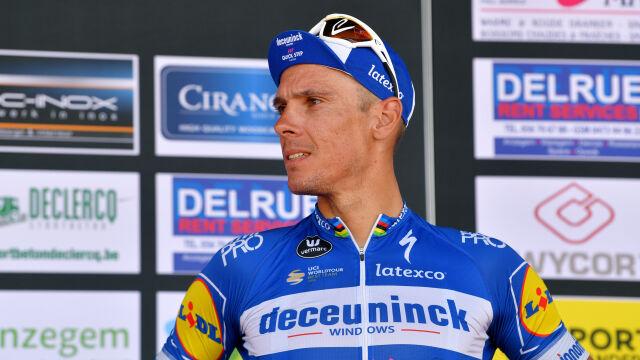 Gilbert wściekły na decyzję grupy. Nie pojedzie w Tour de France