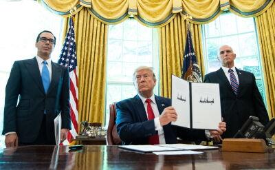 Trump nałożył nowe sankcje na Iran