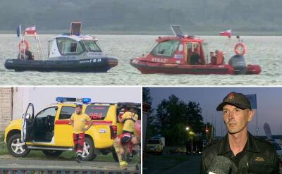 Nastolatek utonął w jeziorze Miedwie