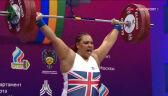 Campbell najlepsza w rwaniu w kategorii powyżej 87 kg w ME