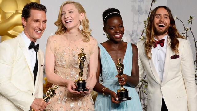 Najlepsi aktorzy: McConaughey, Blanchett, Nyong'o i Leto