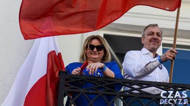 Barbara i Bogdan Zdrojewscy  z mandatami do Senatu