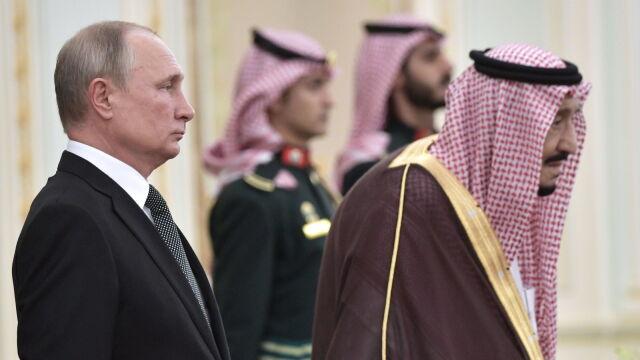 Inwestycje, ropa, wojny w Syrii i Jemenie. Putin na rozmowach w Rijadzie