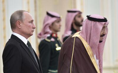 Władimir Putin w Rijadzie