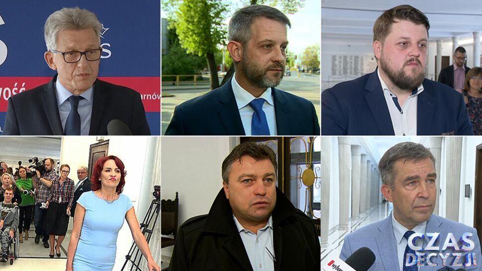 Stanisław Piotrowicz, Roman Kosecki, Tomasz Cimoszewicz. Ich nie zobaczymy już w Sejmie