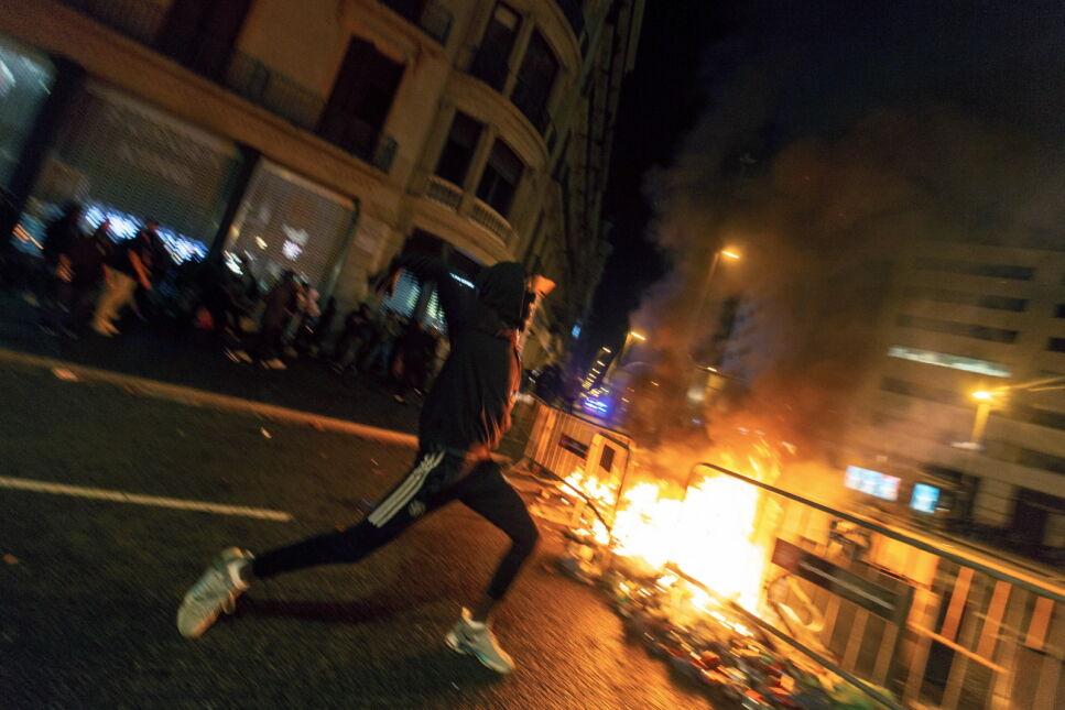 Sobotnia demonstracja w Barcelonie