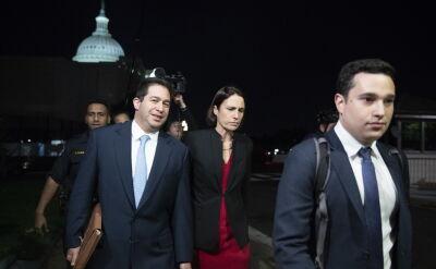 Fiona Hill zeznawała przed Kongresem