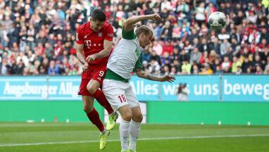Lewandowski z kolejnym rekordem. Bayern stracił punkty w doliczonym czasie