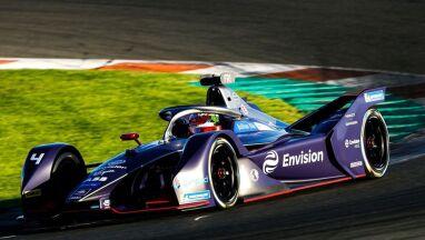 Envision Virgin Racing zdominowało dwa pierwsze dni testów w Walencji