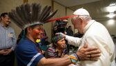 Papież Franciszek na spotkaniu z mieszkańcami Amazonii
