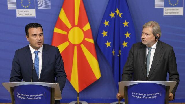 Premier Macedonii Północnej apeluje do Unii: nie odwracajcie się od nas