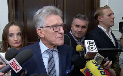 Piotrowicz komentuje porażkę w wyborach do Sejmu