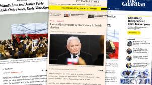 Światowe media o wyborach w Polsce.