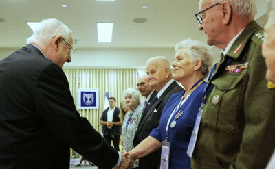 Prezydent Izraela spotkał się z polskimi Sprawiedliwymi wśród Narodów Świata