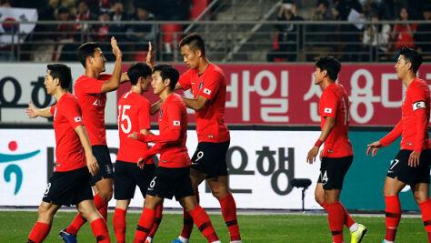 Duże napięcie przed wtorkowym meczem dwóch Korei