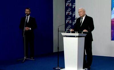 Jarosław Kaczyński: otrzymaliśmy legitymację, by kontynuować dobrą zmianę