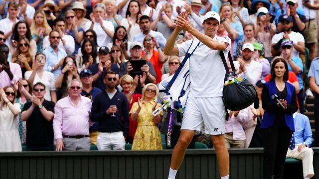 """Hurkacz skomentował półfinał Wimbledonu. """"Rywal nałożył na mnie presję"""""""