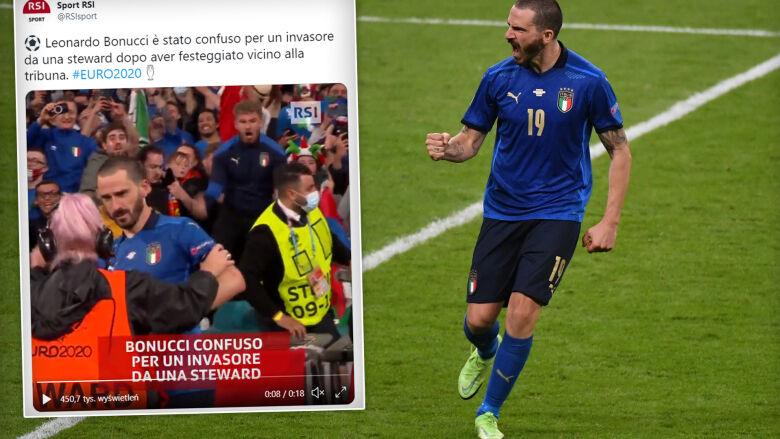 Bohater Włochów potraktowany jak boiskowy intruz