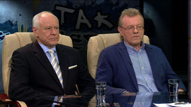 gen. Marek Dukaczewski i prof. Waldemar J. Dziak w Tak jest