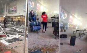 Tak wygląda terminal brukselskiego lotniska po wybuchach