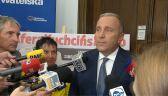 Schetyna: Marek Kuchciński był najgorszym marszałkiem Sejmu od 1989 roku