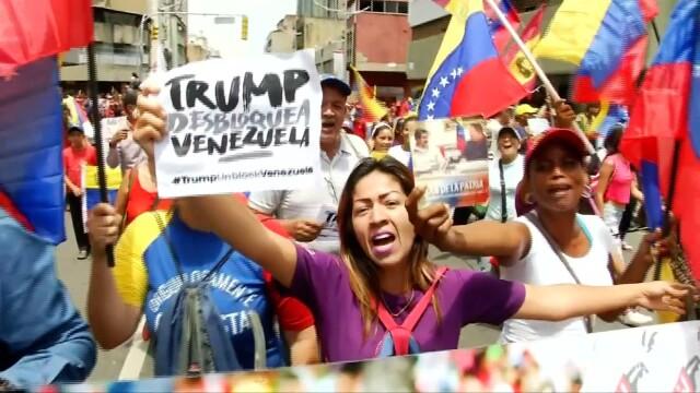 Maduro odpowiada na zamrożenie aktywów przez Trumpa