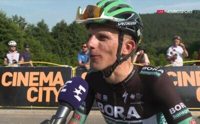 Rafał Majka po 3. etapie Tour de Pologne