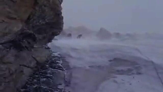 Silny wiatr i mróz. Takie warunki mogą panować na Broad Peak