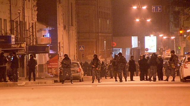 Strzały i starcia w Charkowie.  Ukraińskie media: Zginęły dwie osoby