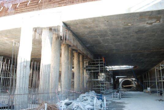 Budowa tunelu pod Martwa Wisłą w Gdańsku