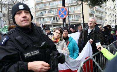 Do Sejmu nie wpuszczono w piątek kilku osób z Obywateli RP