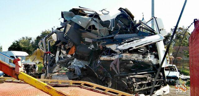 Wrak po wypadku