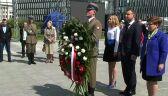 Andrzej Duda w towarzystwie córki czci Narodowy Dzień Zwycięstwa