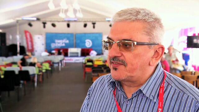 Marek Niedźwiedzki na festiwalu Media i Sztuka w Darłowie