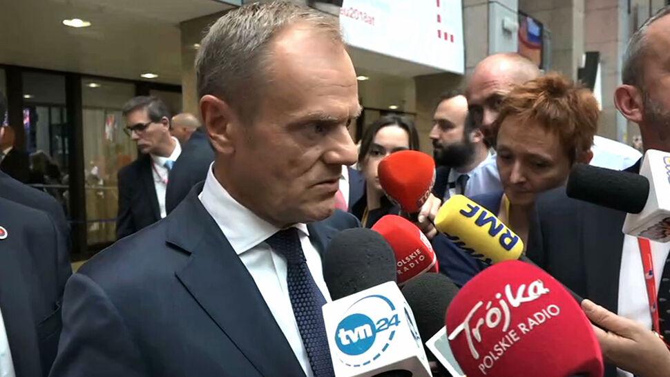 Tusk: boję się, że ktoś przez niekompetencję i niechęć do Zachodu doprowadzi do katastrofy