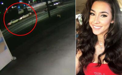 Modelka zginęła w wypadku. Przed zderzeniem postrzelono ją