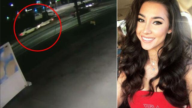 Zderzyła się czołowo z innym autem. Tuż przedtem postrzelono ją w szyję