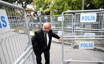 Tureccy śledczy przesłuchali pracowników konsulatu ws. Chaszodżdżiego