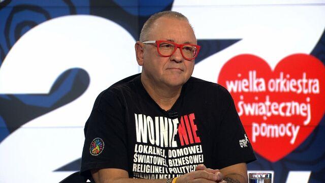"""Jerzy Owsiak był gościem """"Faktów po Faktach"""""""