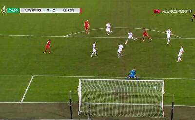 Puchar Niemiec. Augsburg - RB Lipsk 0:2. Gol Yussuf Poulsen